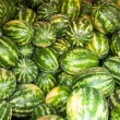 Постер, плакат: Watermelon is sold at the Bazaar
