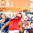 ������, ������: A boxing match Javier Ibanez Cuba and Malik Bajtleuov Russia Defeated Javier Ibanez