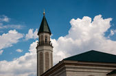 The central cathedral mosque of the city of Orenburg — Stock Photo