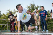 Artist break dance — Stock Photo