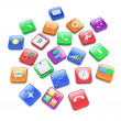 Royalty-Free Stock Photo: Apps icons