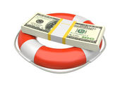 Ahorro de dólar — Foto de Stock