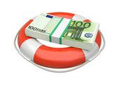 Ahorro de euro — Foto de Stock