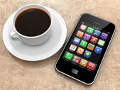 Smartphone — Fotografia Stock