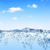 Water and sky — Stock Photo