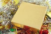 Gold box — Stock Photo
