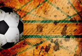 Grungy football background — Stock Photo