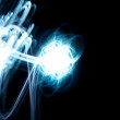 Abstract light beam background — Stock Photo #13963977