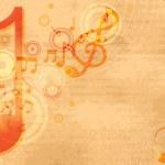 Music festival background — Stock Vector