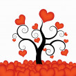 Heart tree — Stock Vector #13967589