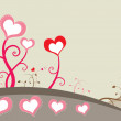 Royalty-Free Stock Imagem Vetorial: Tree of love