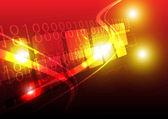 Digital techonology background — Stock Vector