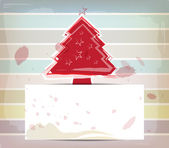 Christmas design and pastel color background — Stock Vector