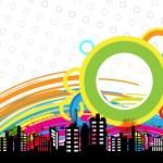Art urban design — Stock Vector #18129249