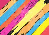 Color paint stripe background — Stock Vector