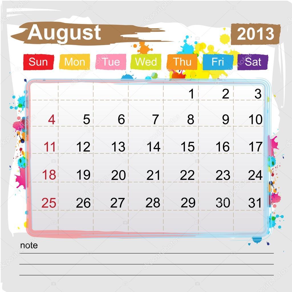 Attendance Calendar 2013 Template   Search Results   New Calendar ...