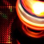 Disco light ball rotation — Stock Photo #19492621