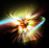 Light aura abstract — Stock Photo