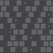 Emboss rectangle pattern background — ストックベクタ