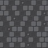 四角形パターン背景をエンボスします。 — ストックベクタ