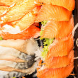 Royalty-Free Stock Photo: Detail of sashimi set