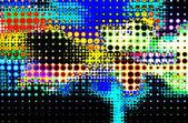 Color abstracto semitono diseño fondo — Foto de Stock