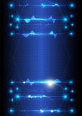 Astratto collegare elettricità — Vettoriale Stock