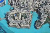 Burj Khalifa Lake — Stock Photo