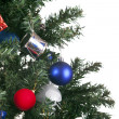 Royalty-Free Stock Photo: Christmas toys on a tree