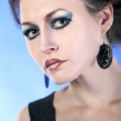 Artistic makeup - Stock Photo
