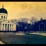 Cathedral in Chisinau city, republic of moldova — Stock Photo