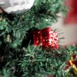 Christmas tree with toys full HD 1920x1080  — Stock Video