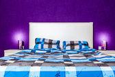 Arredamento camera da letto moderna — Foto Stock