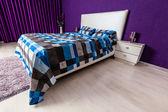 モダンなベッドルームのインテリア デザイン — ストック写真