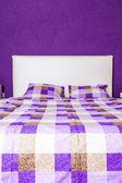 Modern bedroom interior design — Stock Photo