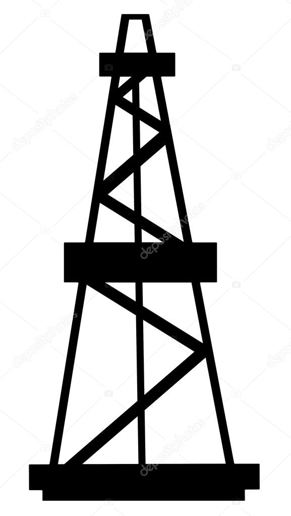 The gallery for --> Oil Derrick Silhouette