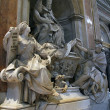 Interior of Saint Peter Basilica. Rome, Italy — Stockfoto #12721234