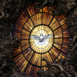 Holy Spirit.  Detail of main altar. Vatican — Stock Photo