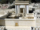 Second Temple. Ancient Jerusalem — Stock Photo