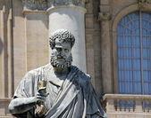 Svatého petra. vatikán. řím. itálie. — Stock fotografie