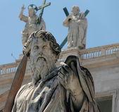 Statue of Saint Paul , Vatican City — Stock Photo