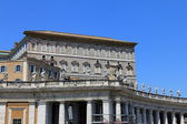 Apostolic Palace, Pope residense — Stock Photo