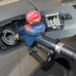Refueling a car — Stock Photo