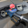Stock Photo: Refueling car