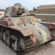 Old French light tank — Stock Photo #13553406