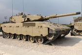 イスラエル ・ メルカバ mk iii 戦車 — ストック写真