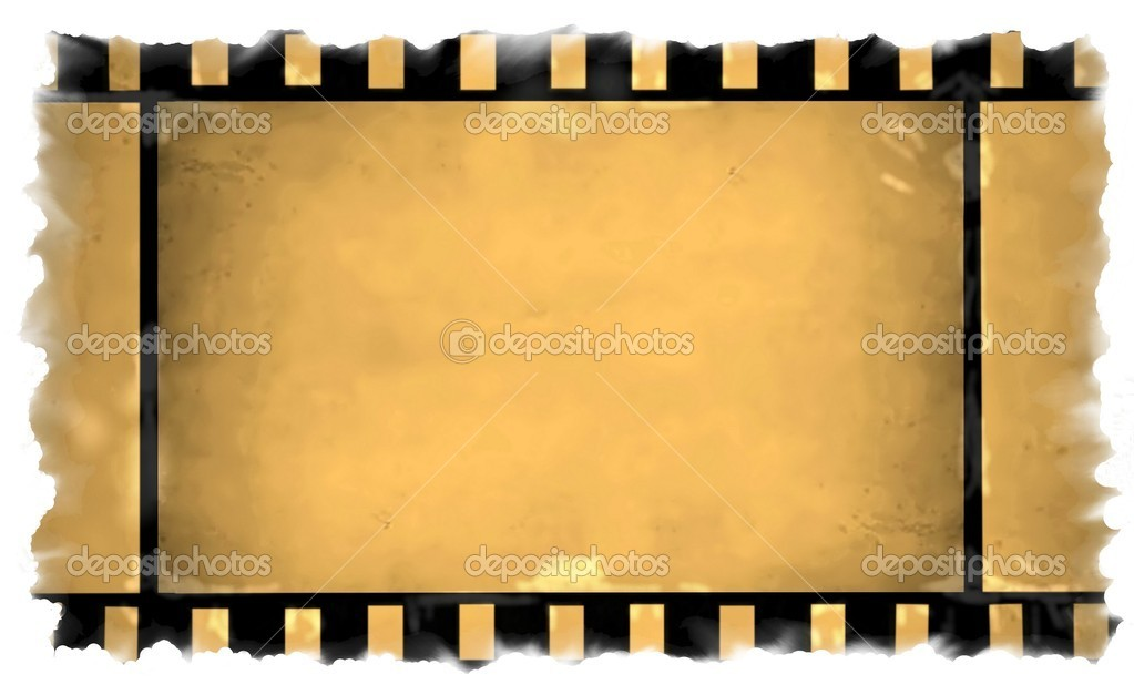 陈旧电影胶片边框素材