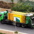 Stock Photo: Garbage truck