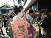 Geishas in Kyoto — Stock Photo