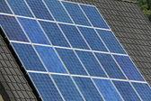 Domestic solar panels — Stock Photo